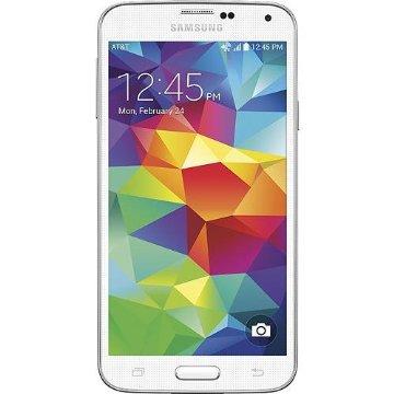 Samsung Galaxy S5 16GB 4G Unlocked GSM Phone (SM-G900H, White)