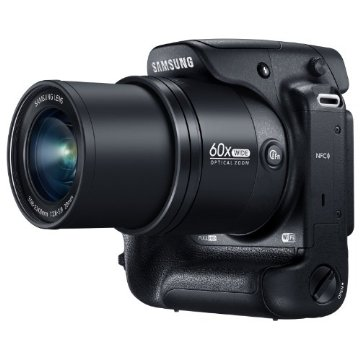 Samsung WB2200F 16.4MP Smart Digital Camera with 60x Optical  Zoom Wi-Fi, FullHD Video