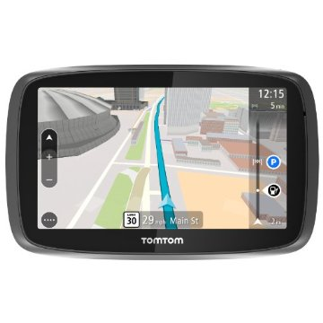 TomTom Go 500 Vehicle GPS with Lifetime Maps, Traffic