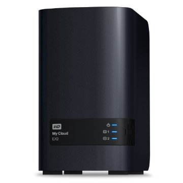WD My Cloud EX2 4TB Personal Cloud Storage - NAS (WDBVKW0040JCH-NESN)