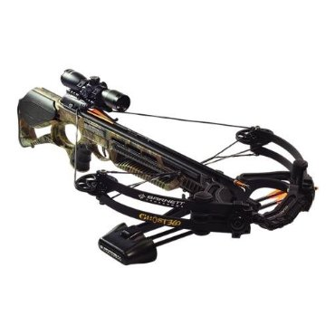 Barnett Ghost 360 CRT Crossbow Package with Scope (78630)