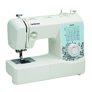 Brother XR3774 Sewing and Quilting Machine with 37 Stitches, 8 Sewing Feet, Wide Table, and Instructional DVD
