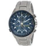 Citizen AT8020-54L Blue Angels Stainless Steel Eco-Drive Men's Watch