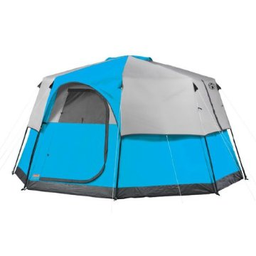 Coleman Octagon 98 Tent (8 Person, 2 Room, 13x13')