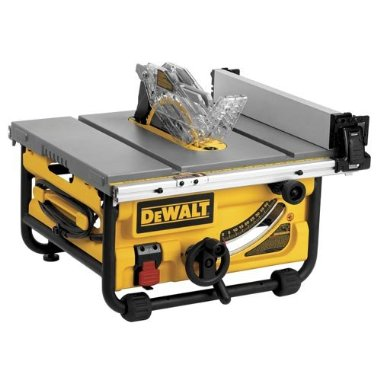 DeWalt DWE7480 10 Compact Job Site Table Saw with Site-Pro Modular Guarding System