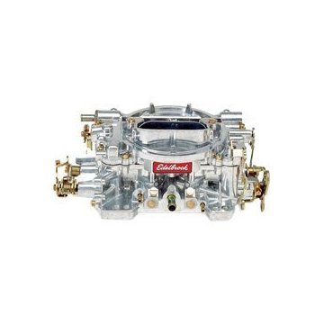 Edelbrock 1404 Performer Series 550 CFM Square Bore 4-Barrel Air Valve Secondary Manual Choke Carburetor
