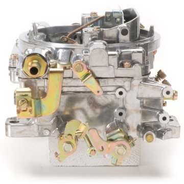 Edelbrock 1405 Performer 600 CFM Square Bore 4-Barrel Air Valve Secondary Manual Choke Carburetor
