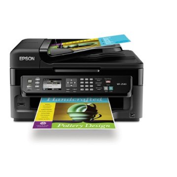 Epson WorkForce WF-2540 Wireless All-in-One Color Inkjet Printer, Copier, Scanner, and Fax