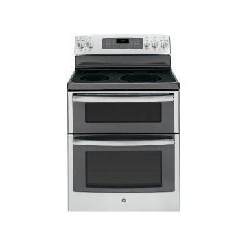 GE JB850SFSS 30 Stainless Steel Electric Smoothtop Double-Oven Range