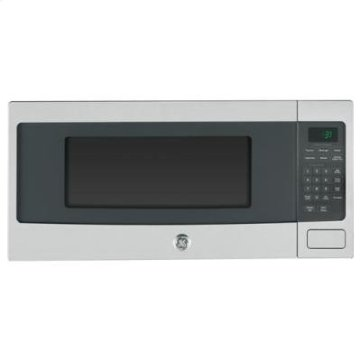 GE Profile PEM31SFSS Stainless Steel 1.1 cu ft Countertop Microwave with Under-Counter Mount