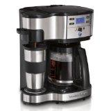 Hamilton Beach Two-Way Brewer with Single Serve and 12-cup Coffee Maker (49980Z)