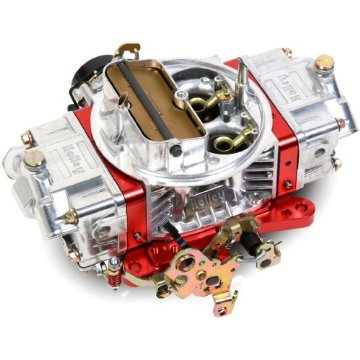 Holley 0-76750RD Ultra Double Pumper Four Barrel 750 CFM Street/Strip Carburetor (Red)