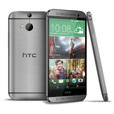 HTC One M8 32GB Factory Unlocked Phone (Gunmetal Grey)