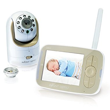 Infant Optics DXR-8 Pan/Tilt/Zoom 3.5 Video Baby Monitor With Interchangeable Optical Lens