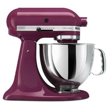KitchenAid KSM150PSBY Artisan Series 5 Quart Stand Mixer (Boysenberry)