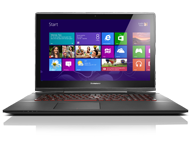 "Lenovo Y70 Touch 17.3"" Laptop with Core i7-4710HQ 2.5GHz, GeForce GTX 860M, 512GB SSD, 16GB RAM (80DU000HUS)"