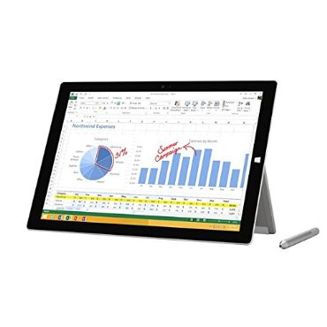 Microsoft Surface Pro 3 Tablet with 256GB HD, Intel i5, Windows 8.1
