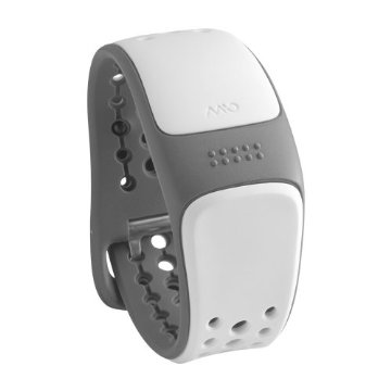 Mio Link Strapless ANT+ Heart Rate Wrist Band (Arctic, Small/Medium)
