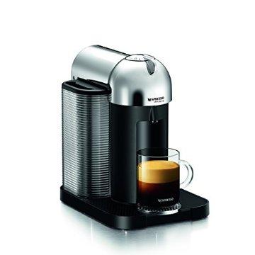 Nespresso VertuoLine Coffee and Espresso Maker (Chrome, GCA1-US-CH-NE)
