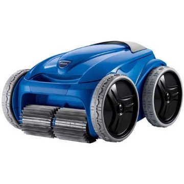 Polaris 9550 Sport Robotic In Ground Pool Cleaner with Remote Control and Caddy Cart