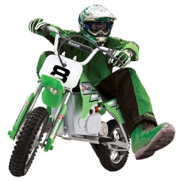 Razor MX400 Dirt Rocket Electric Motocross Bike (Green)