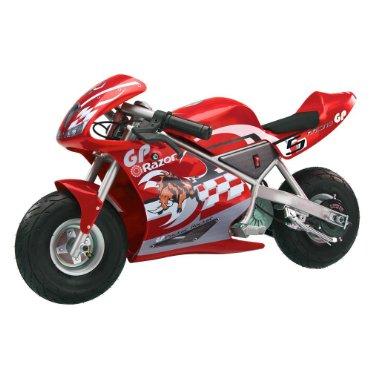 Razor Pocket Rocket Miniature Electric Bike #155001 (Red)