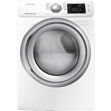 Samsung DV42H5200EW 7.5 Cu. Ft. Steam Cycle Electric Stackable Dryer