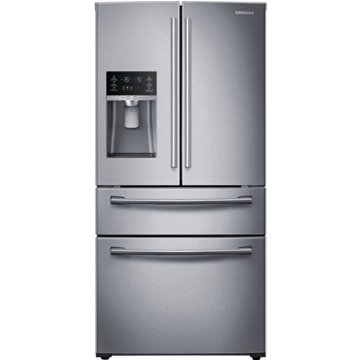 Samsung RF25HMEDBSR 25 Cu. Ft. Stainless Steel French Door Refrigerator