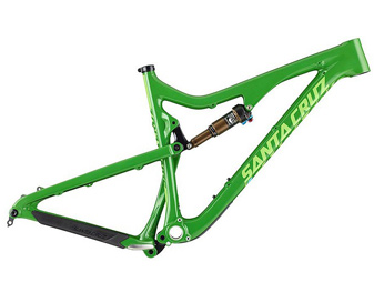 Santa Cruz Bronson Carbon Frame (2015, Black/Magenta or Green)