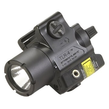 Streamlight TLR-4 Compact Rail Mounted Tactical Light with Laser Sight (69240)