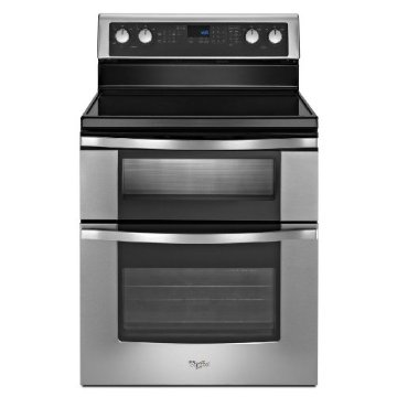Whirlpool WGE555S0BS 30  Electric Double Oven Range