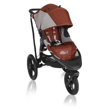 Baby Jogger Summit X3 Single Stroller (Orange)