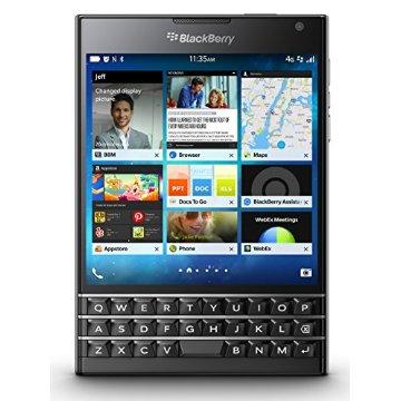 BlackBerry Passport Factory Unlocked Smartphone (Black)