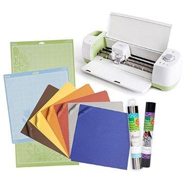 Cricut Explore Paper & Vinyl Sampler Bundle for Scrapbooking