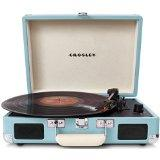 Crosley CR8005A Cruiser Portable Turntable (Turquoise)