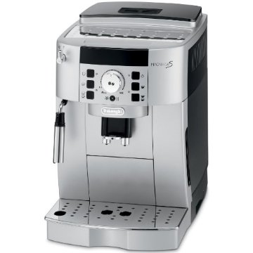 DeLonghi Magnifica S Super Automatic Cappuccino, Latte and Espresso Machine (ECAM22110SB)