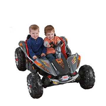 Fisher-Price Power Wheels Dune Racer Ride On (Red/Gray)