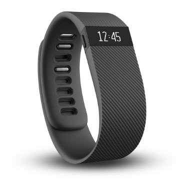 Fitbit Charge Wireless Activity Wristband (Black, Small)