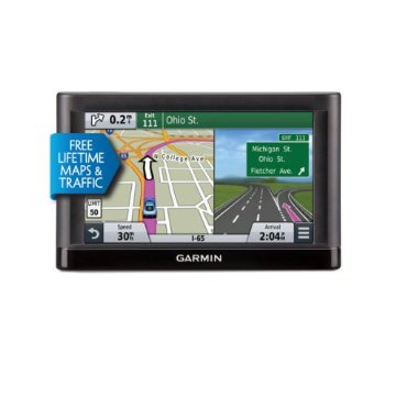 Garmin nuvi 66LMT GPS with Lifetime Maps and Traffic Updates (USA and Canada)