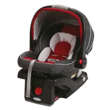 Graco SnugRide 35 Click Connect Car Seat (Chili Red)