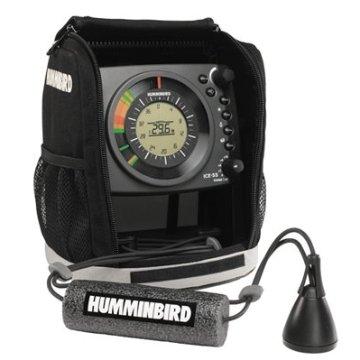 Humminbird ICE-55 Flasher Dual Beam Ice Fishing Sonar System (407040-1)