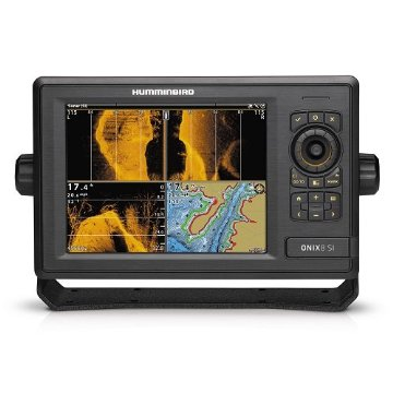Humminbird ONIX8ci SI Combo with Side Imaging Transom Mount Transducer and Internal GPS (408860-1)