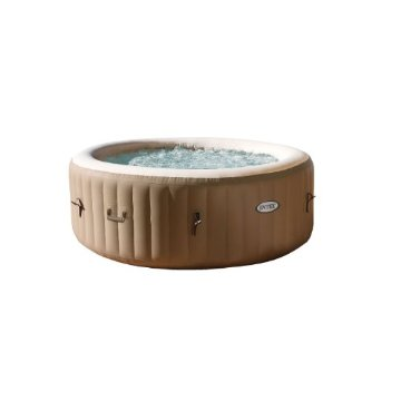 Intex PureSpa Bubble Therapy Portable Spa with Water Softener (28403E)