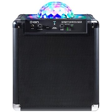Ion Audio Party Rocker Live Wireless Speaker with Party Lights and App Control