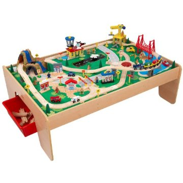 KidKraft Waterfall Mountain Train Set and Table (17850)