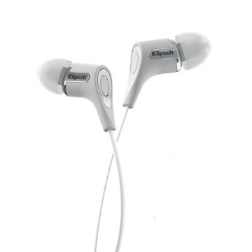Klipsch R6 In-Ear Headphone with Patented Oval Tip (White)
