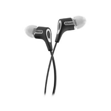 Klipsch R6 In-Ear Headphone with Patented Oval Tip (Black)