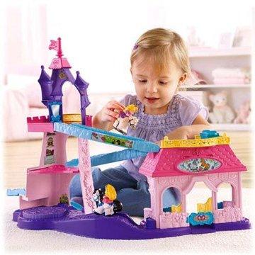 Little People Disney Princess Klip Klop Stable