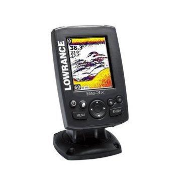 Lowrance Elite-3X Fishfinder with 83/200 Transducer (000-11448-001)