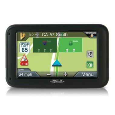 Magellan RoadMate 5235T-LM 5 GPS with Lifetime Maps and Traffic Updates